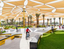 UAE's largest skate park opens at Kite Beach in Dubai