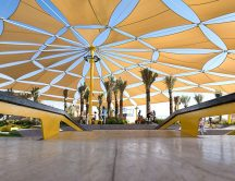360 degree view of X-Dubai Skate Park