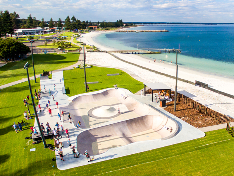 Convic skate park design construction planning repairs esperance skate park esperance wa malvernweather Gallery