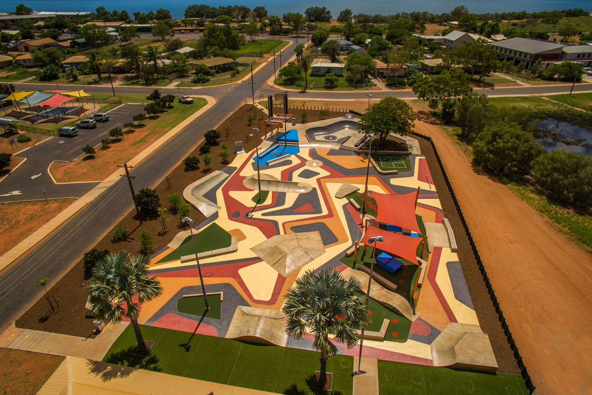 Convic skate park design construction planning repairs onslow skate space onslow wa malvernweather