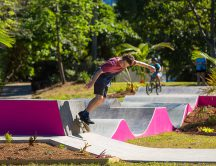 A new skate park in Cairns!