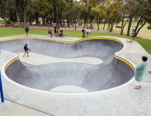 Community making the most of the new Kwinana Skate Park